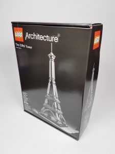 Picture of brand new Lego Eiffel Tower Lego set