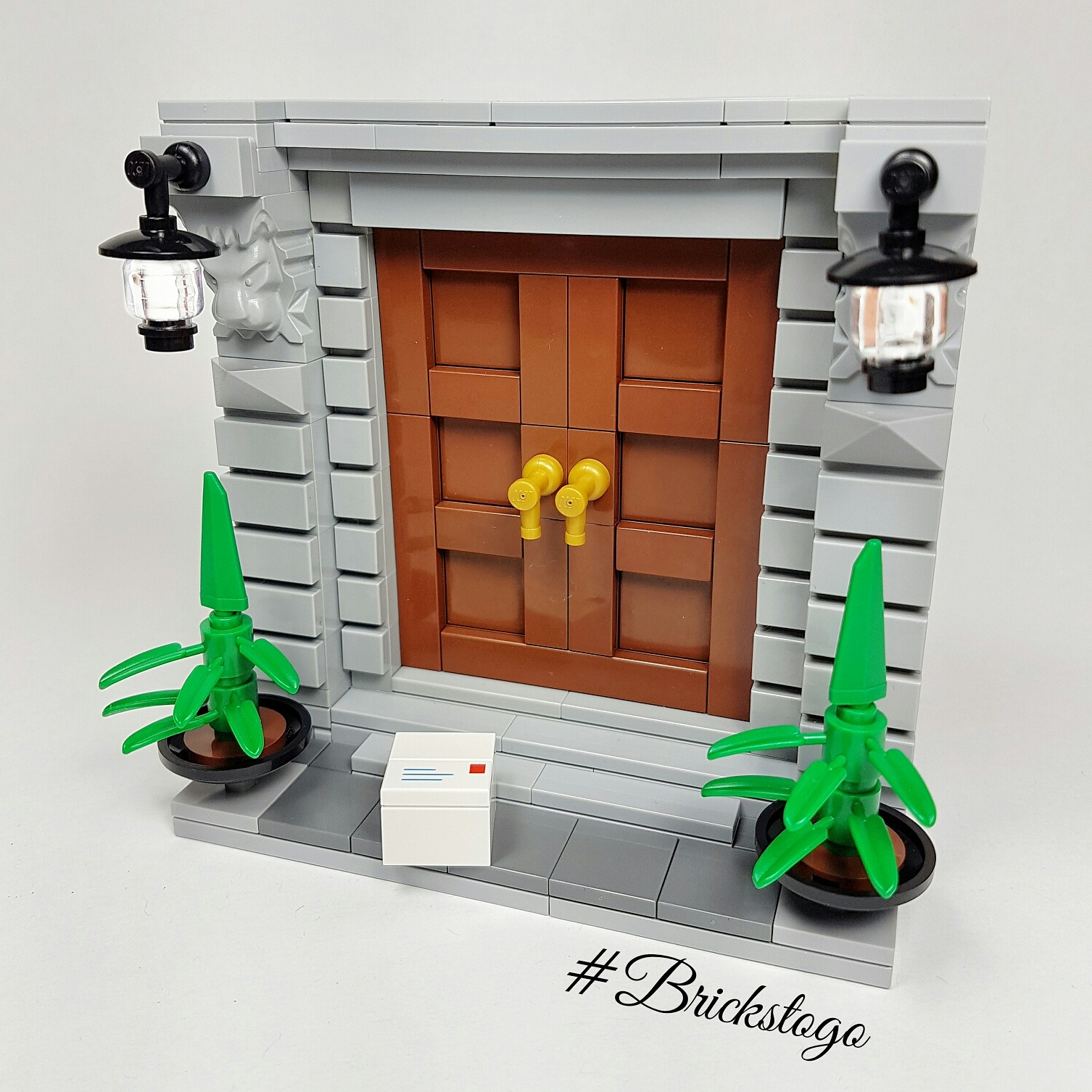 19th Century Lego Doorway MOC