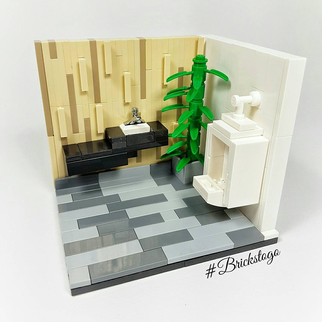 Lego bathroom