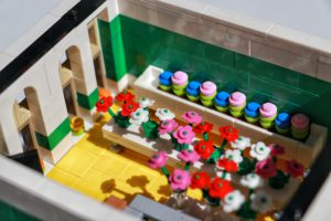 Second Floor of LEGO Bridal Shop