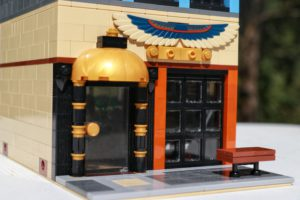LEGO Restaurant Front Door