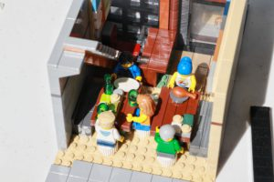 First Floor Lego Restaurant