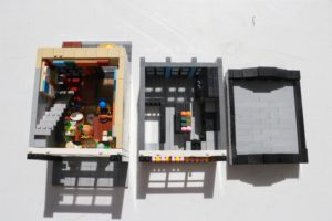 LEGO Modular Restaurant Sections