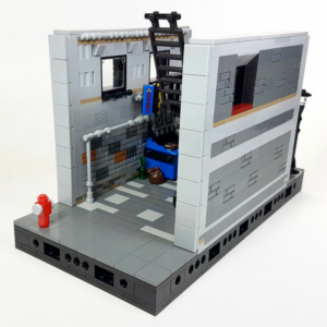 Modular-Compatible City Alleyway
